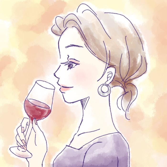 ワイン初心者素敵女子